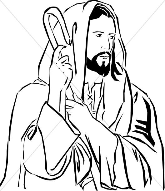 528x612 Jesus Clipart, Clip Art, Jesus Graphics, Jesus Images