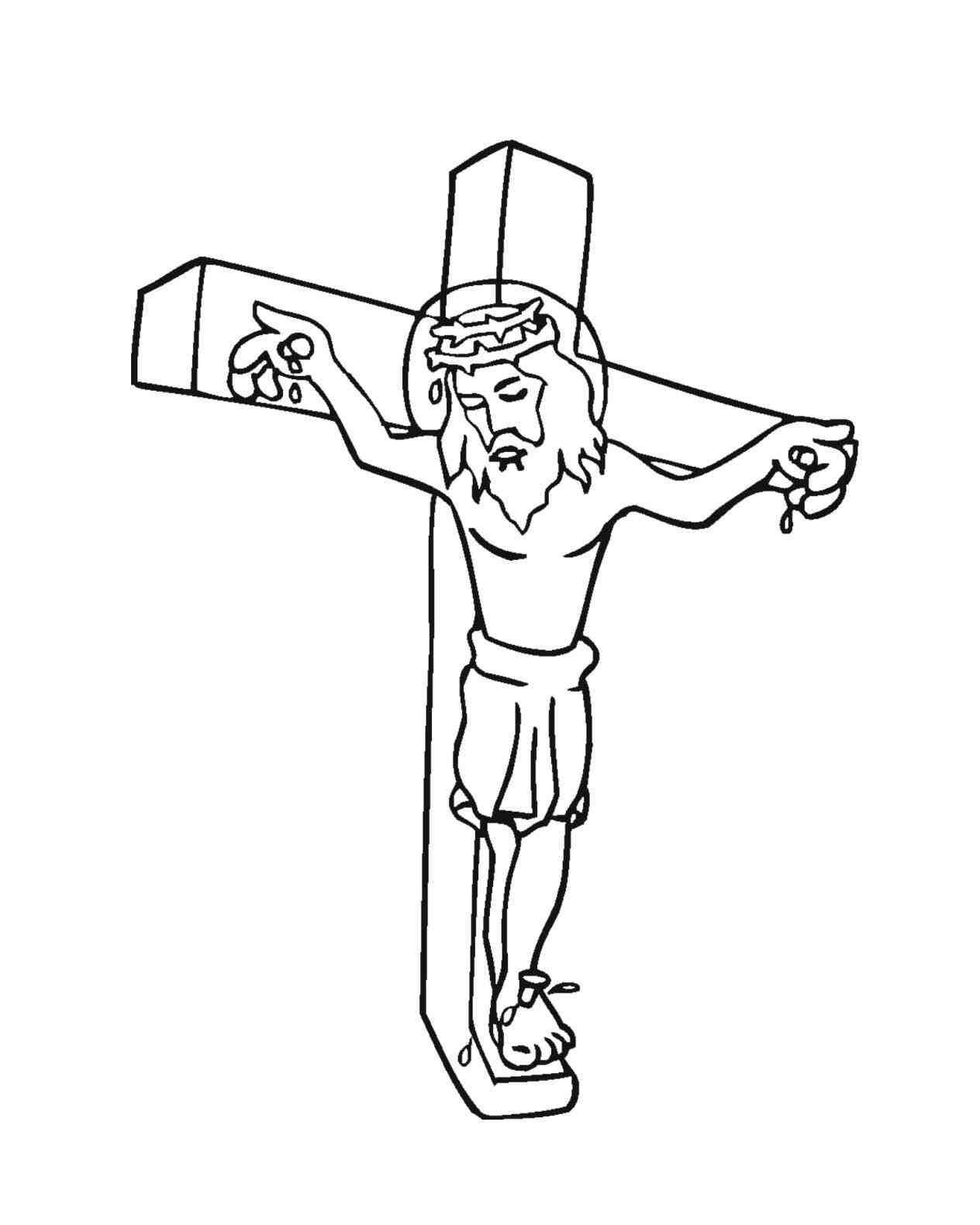 1264x1580 Drawings Of Jesus On The Cross