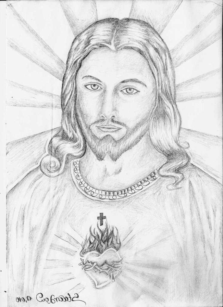 744x1024 21 Best Drawing Of Jesus Images On Jesus Christ, Jesus