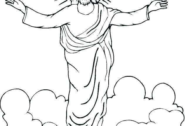 630x430 Jesus Coloring Sheet Free Printable Coloring Pages Kids Coloring