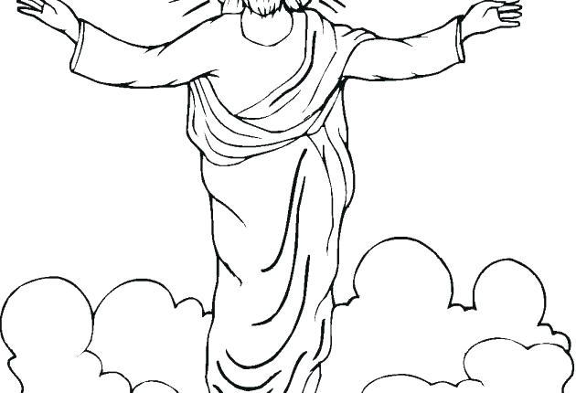 630x430 Jesus Coloring Sheet Free Printable Pages Kids