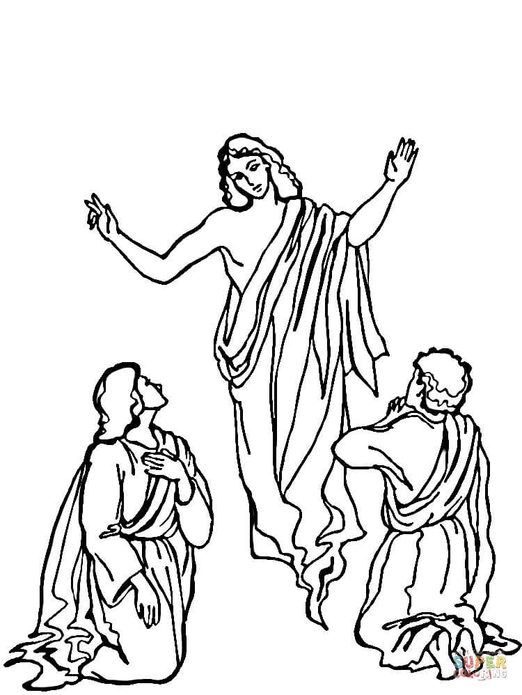 750x998 Resurrection Of Jesus Coloring Page Free Printable Coloring Pages