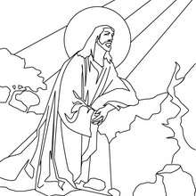 220x220 Resurrection Of Jesus Christ Coloring Pages