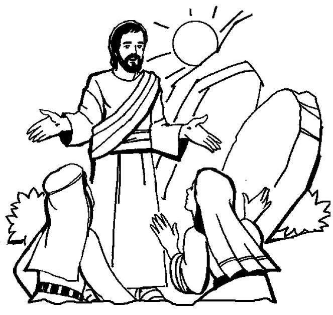 663x628 The Resurrection Of Jesus He Is Risen