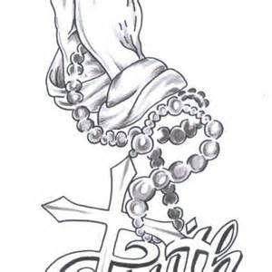 300x300 Tattoo Pray Faith