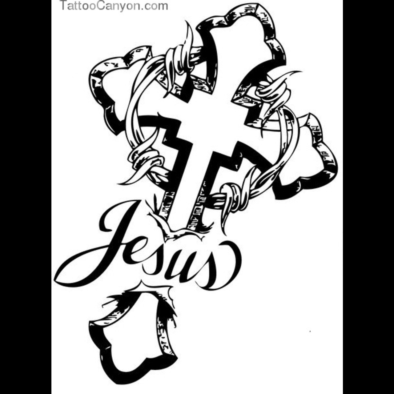 Jesus Tattoo Drawing At Getdrawings Com Free For Personal Use