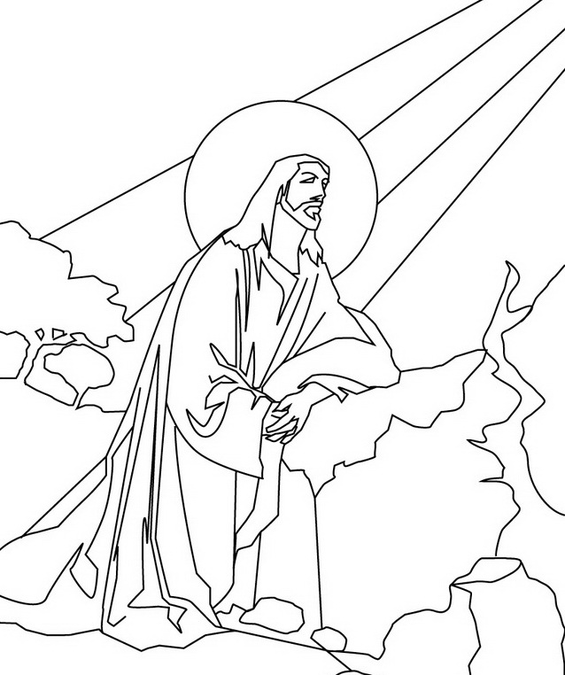 Jesus With Children Drawing at GetDrawings.com | Free for personal ...