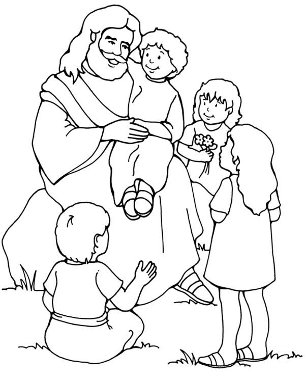 600x742 Jesus Loves Me, Jesus Love Me And The Other Children Too