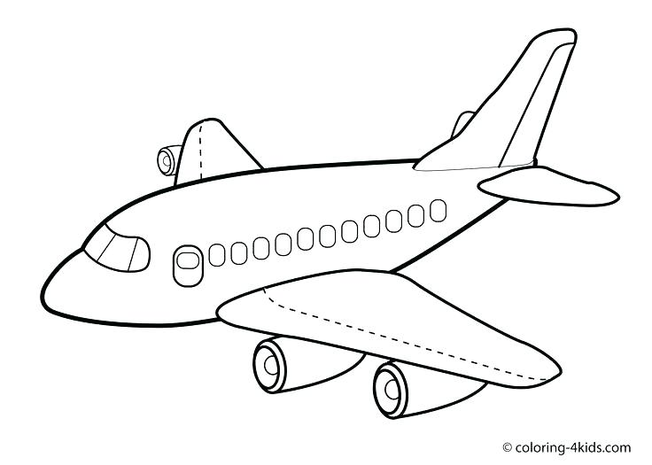 736x525 Plane Coloring Page Jet Sheets Best Airplane Pages On Print Out