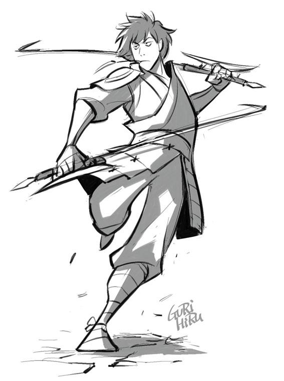 567x759 Gurihiru Blog Atla Drawing Practice Jet