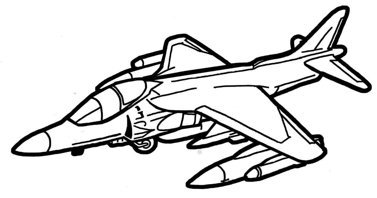 1200x631 Harrier Jet By Deathpuppy