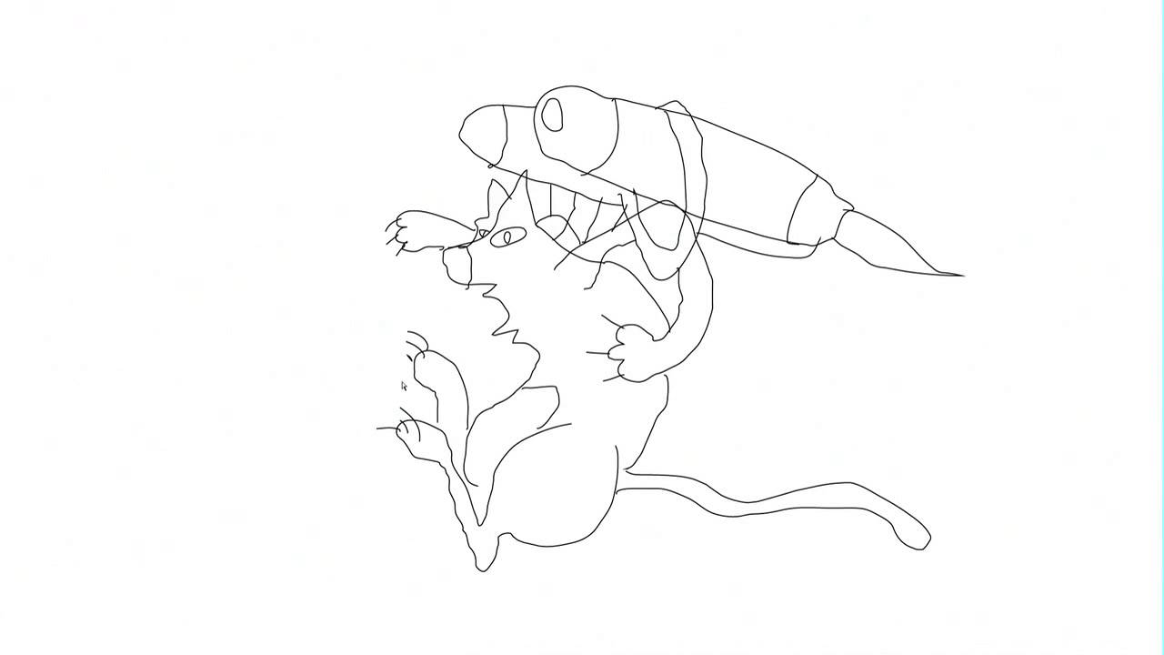 1280x720 How To Draw A Cat With A Jet Pack
