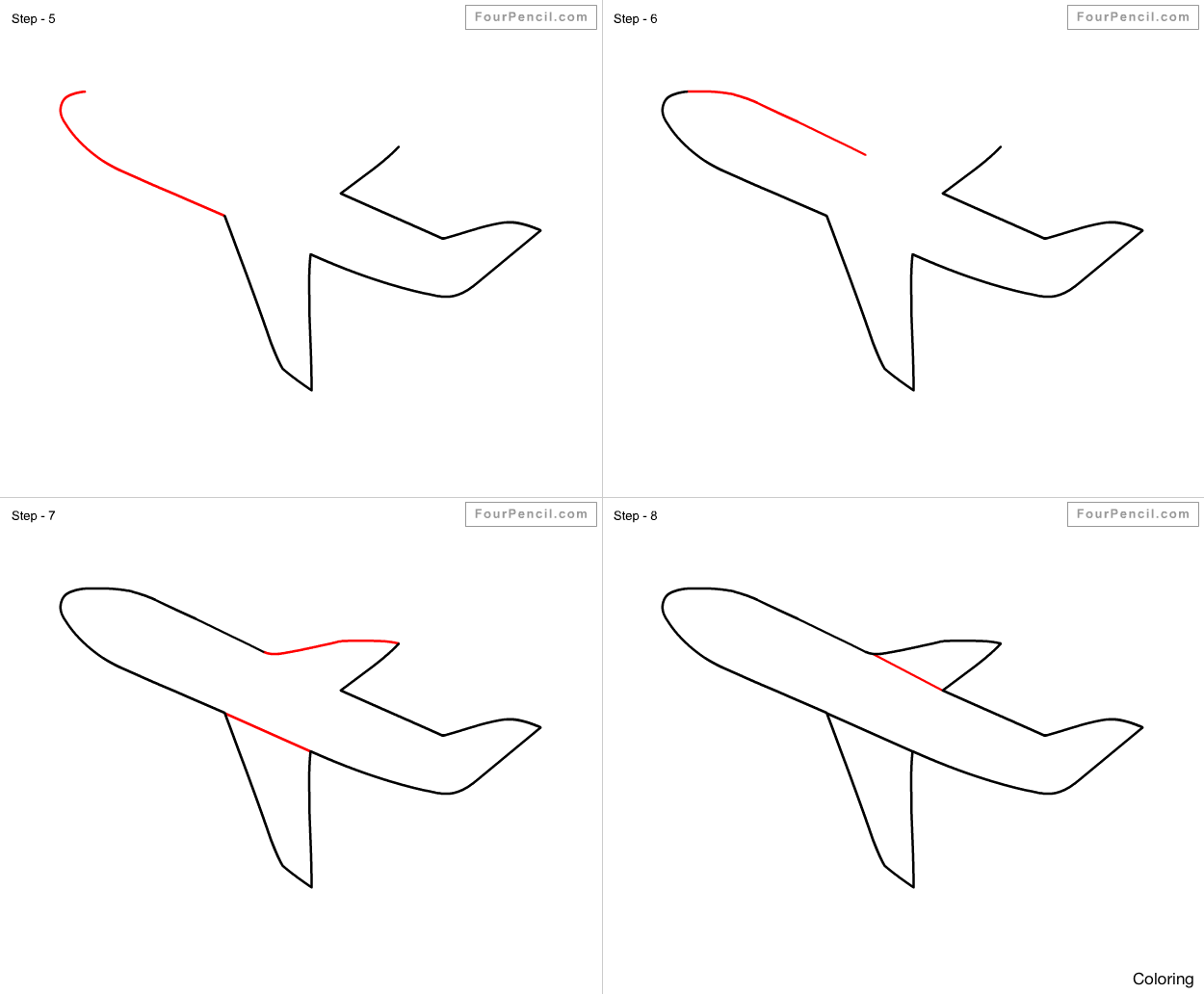 1250x1032 Drawn Jet Fighter 9 How To Draw A Coloring Pin 14 18f Jetpack Step
