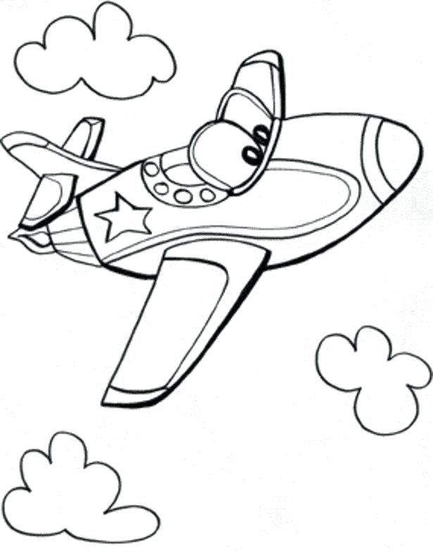 615x786 Fighter Jet Plane Coloring Pages Free Printable Airplane Page