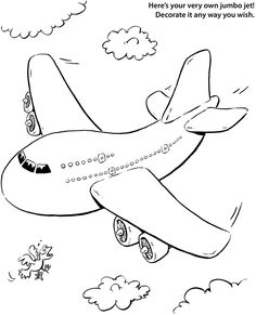 236x291 Airplane Coloring Pages Airplanes Pictures For Kids Viewing