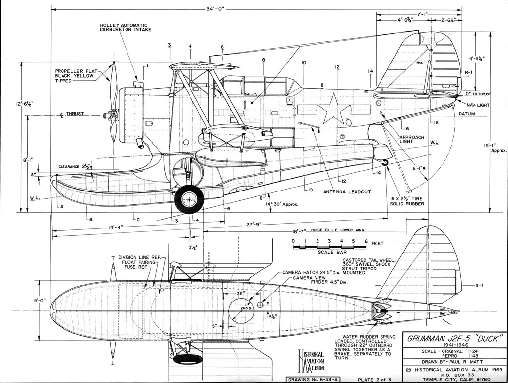 1024x772 Posted Image Aircraft 3 View Scale Drawings