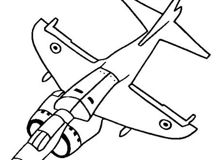 Jet Fighter Drawing