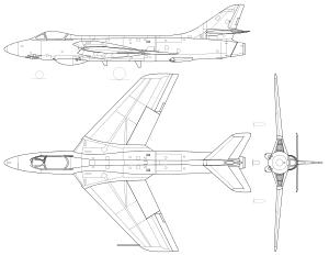 300x232 Hawker Hunter