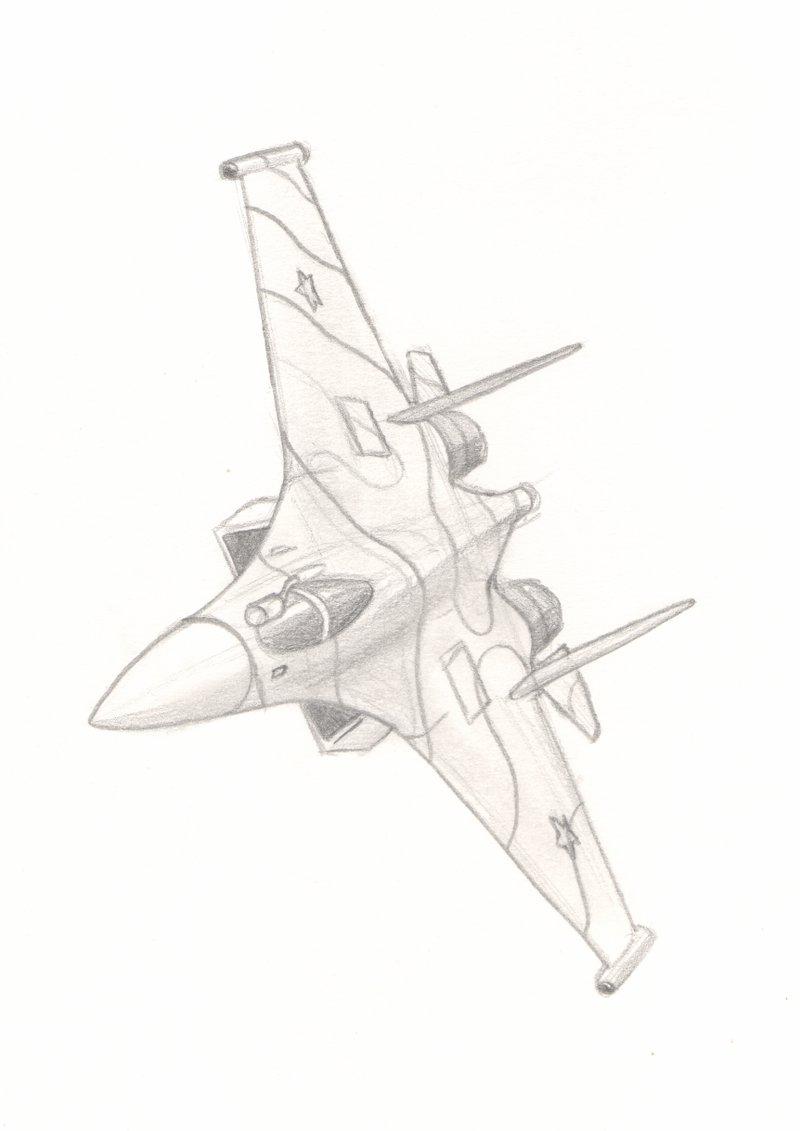 800x1131 Su 35 Jet Fighter By Madottsel