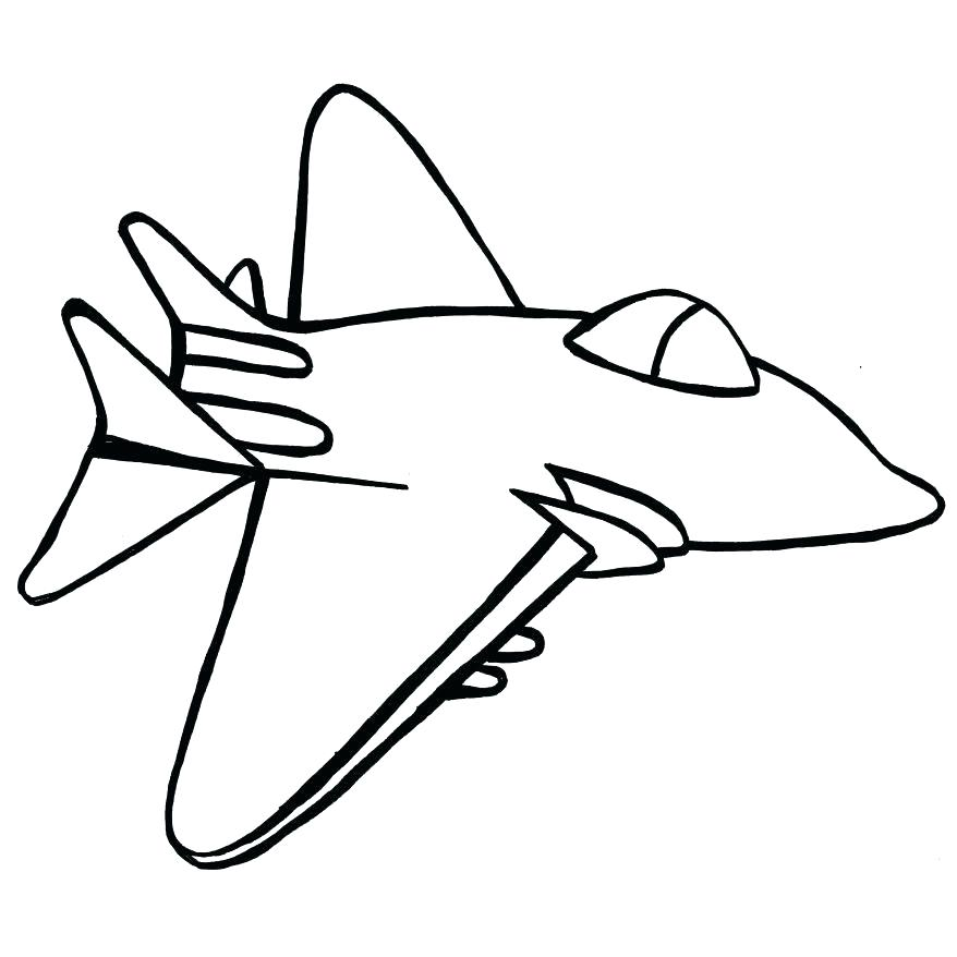 878x878 Jet Fighter Coloring Pages Convobox.co