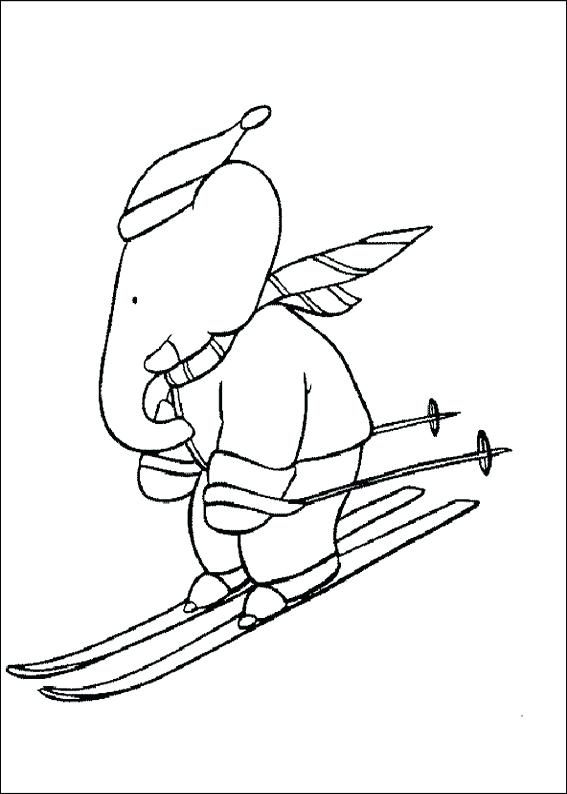 567x794 Skiing Coloring Pages Jet Ski Printable Coloring Pages Synthesis