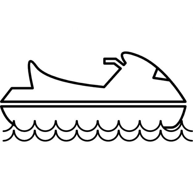626x626 Water Jet Ski Icons Free Download