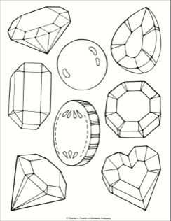 244x316 Jewel And Treasure Coloring Page Coloring Pages School