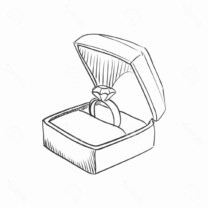 687x687 How To Draw A Wedding Ring New Wedding Rings How To Draw Jewelry