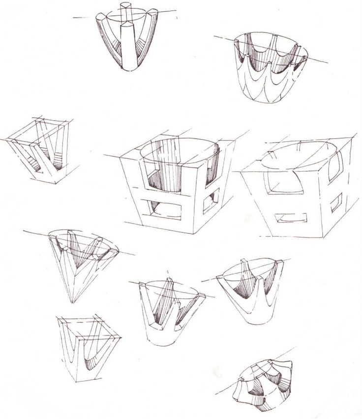 736x852 Pen Sketches Of Setting Styles For Jewellery By Hamish Bowie