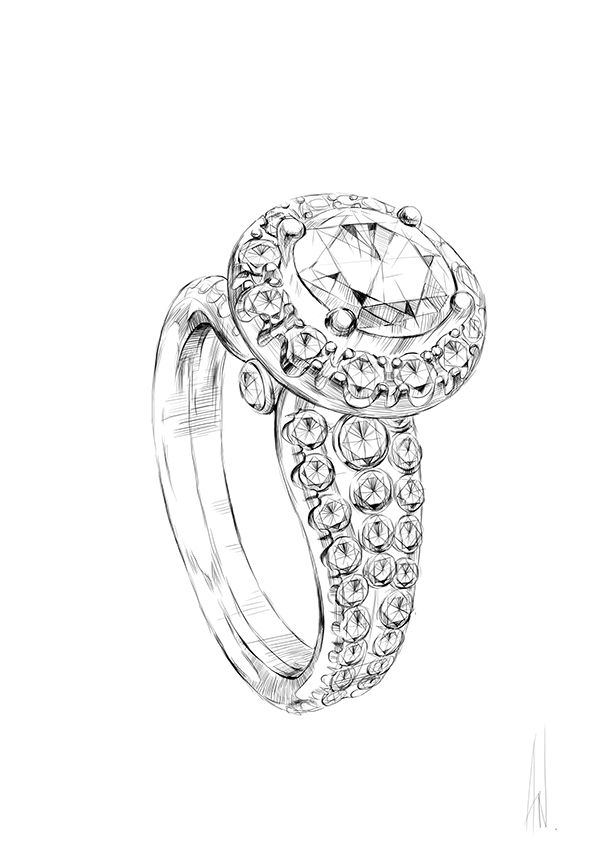 600x849 281 Best Jewellery Design Images On Jewellery Sketches