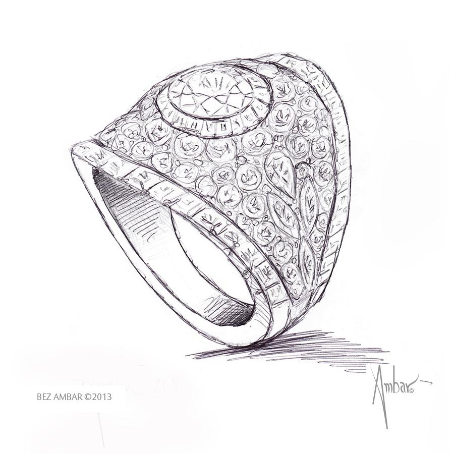 900x900 Bez Ambar Custom Design Hand Drawing