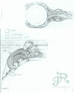 240x300 Drawings Amp Sketches Rosestone Jewelry