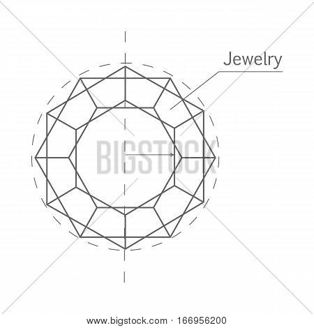 450x470 Jewelry Production Sketch Isolated Vector Amp Photo Bigstock