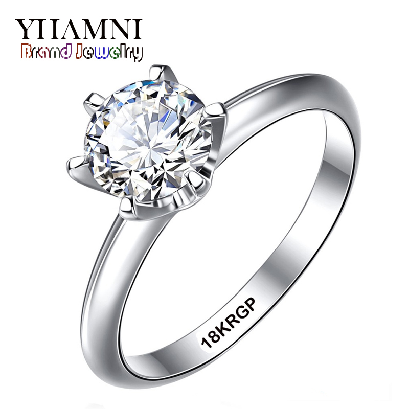 800x800 Fine Jewelry Real White Gold Ring With 18krgp Stamp Gold Filled