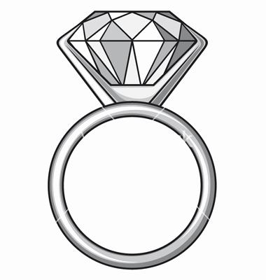 380x400 57 Best Of Drawings Of Wedding Rings