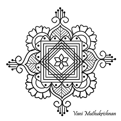 400x400 My Kolam Floral Jewels Pattern D Is For Drawing