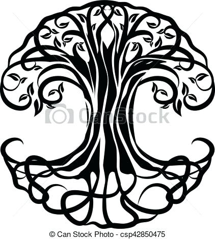 422x470 Tree Of Life Clipart Tree Of Life Vector Jewish Tree Of Life