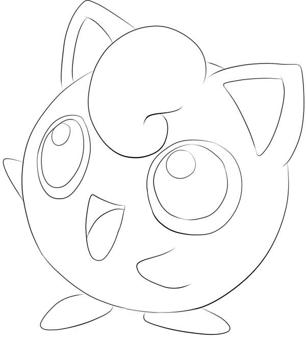600x662 Pokemon Jigglypuff Coloring Pages Jynx Pokemon Coloring Pages