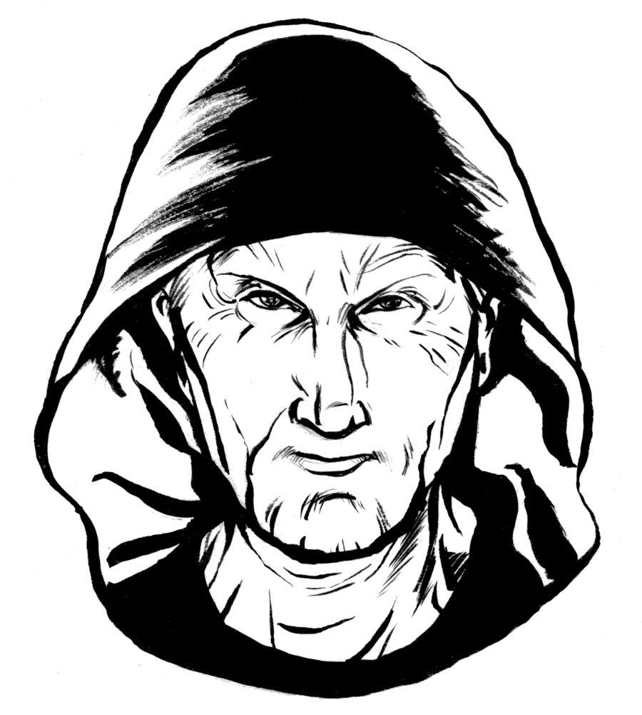 900x1001 Jigsaw Warm Up Sketch By Ianjmiller