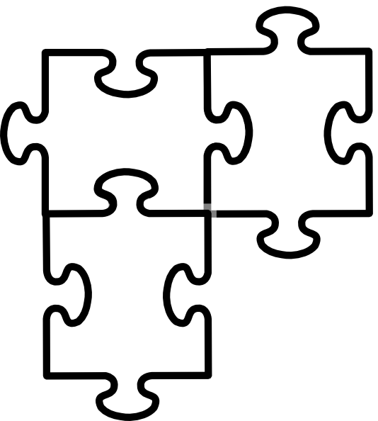 534x594 3 Piece Puzzle Template 3 Piece Jigsaw Puzzle Template Free