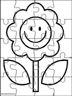 236x314 Puzzle Drawing Prompt For Kids With A Free Printable Template