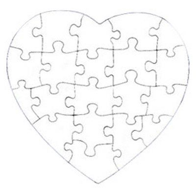 Jigsaw Puzzle Drawing