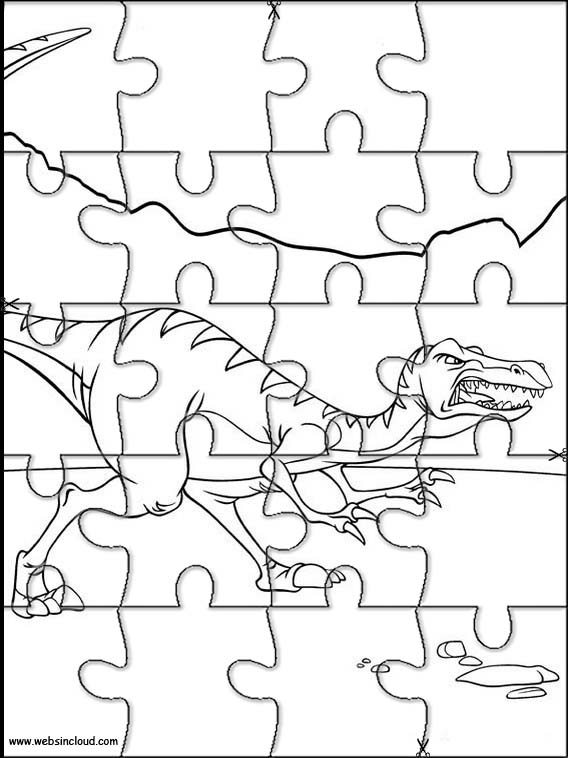 568x758 Printable Jigsaw Puzzles To Cut Out For Kids The Land Before Time