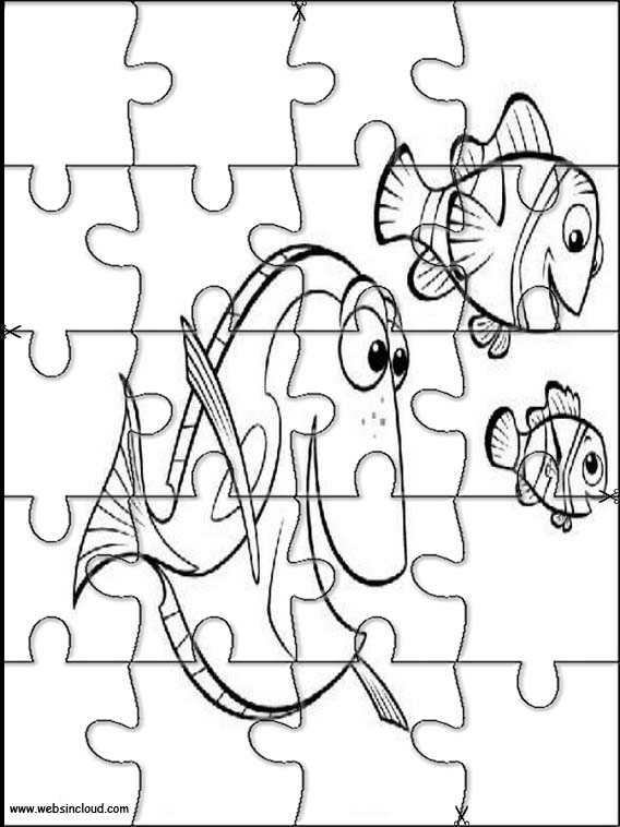 568x758 Finding Nemo Printable Jigsaw Puzzles To Cut Out 7