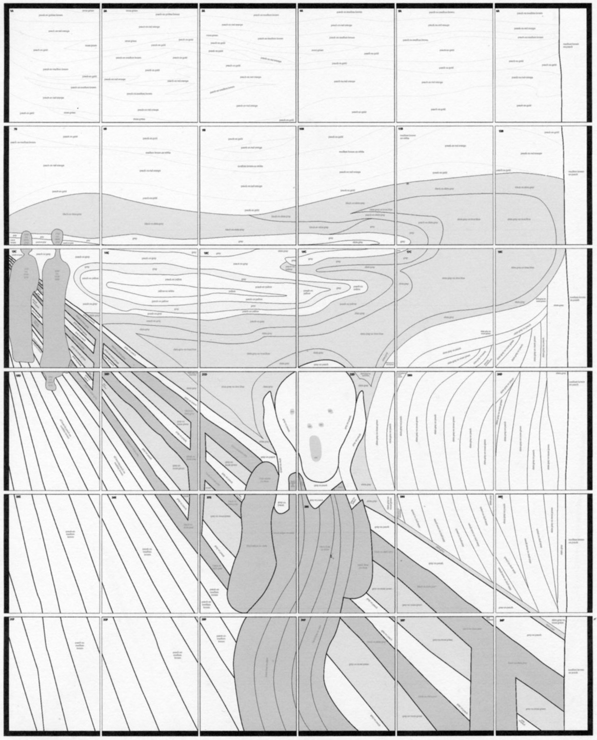 1164x1442 Munch's The Scream Mural