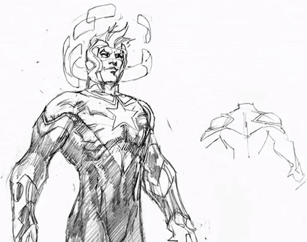 600x473 Boosterrific! Blog This Is How Jim Lee Sees Booster Gold