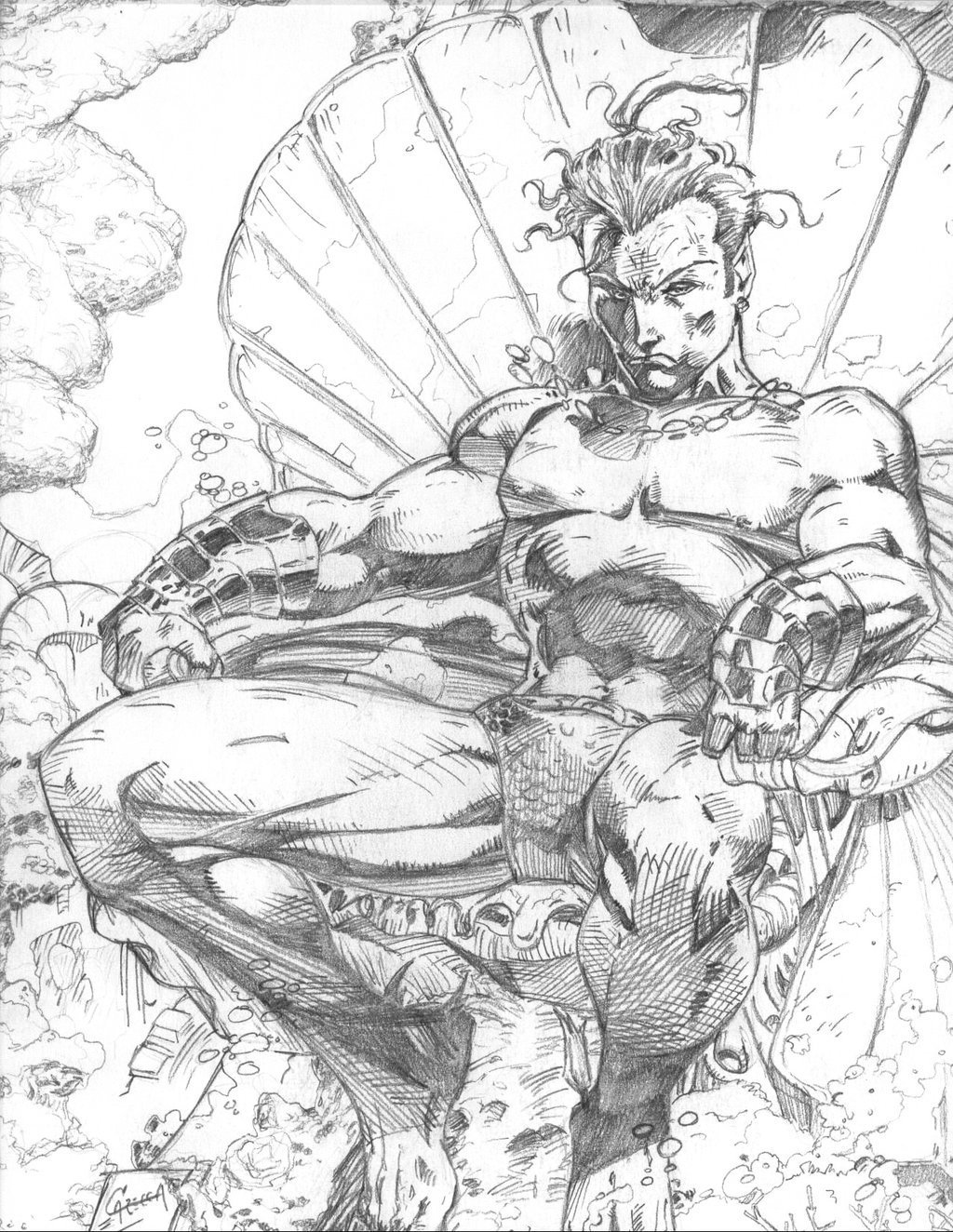 1024x1324 Namor (After Jim Lee) By Ash Cc