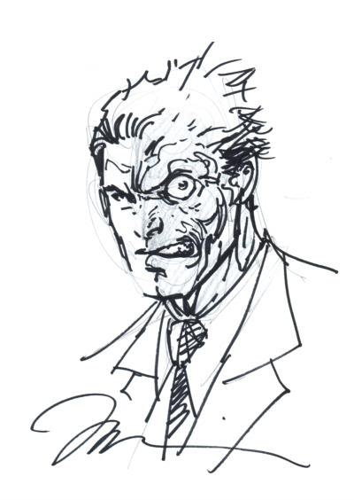 400x564 Sketch Jim Lee X3 About Faces