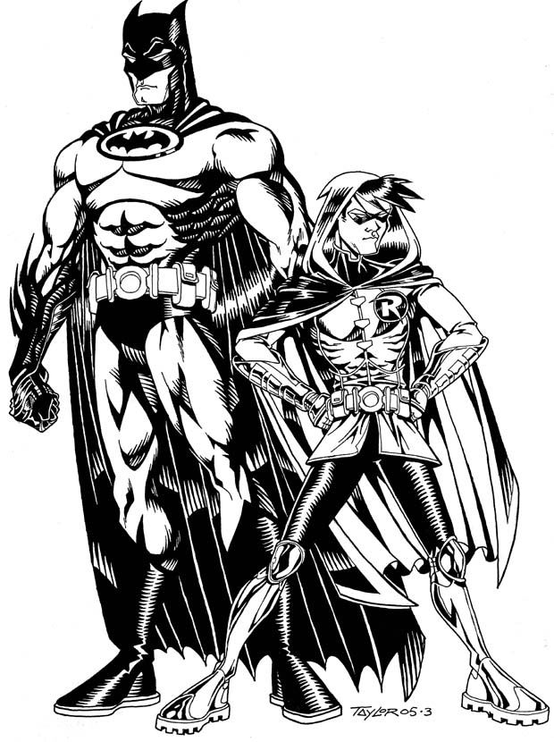 620x830 Jim Lee's Batman Robin By Alphacmt