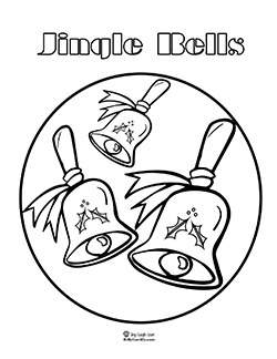 250x324 Jingle Bells Instrument Coloring Pages Christmas Bell Coloring
